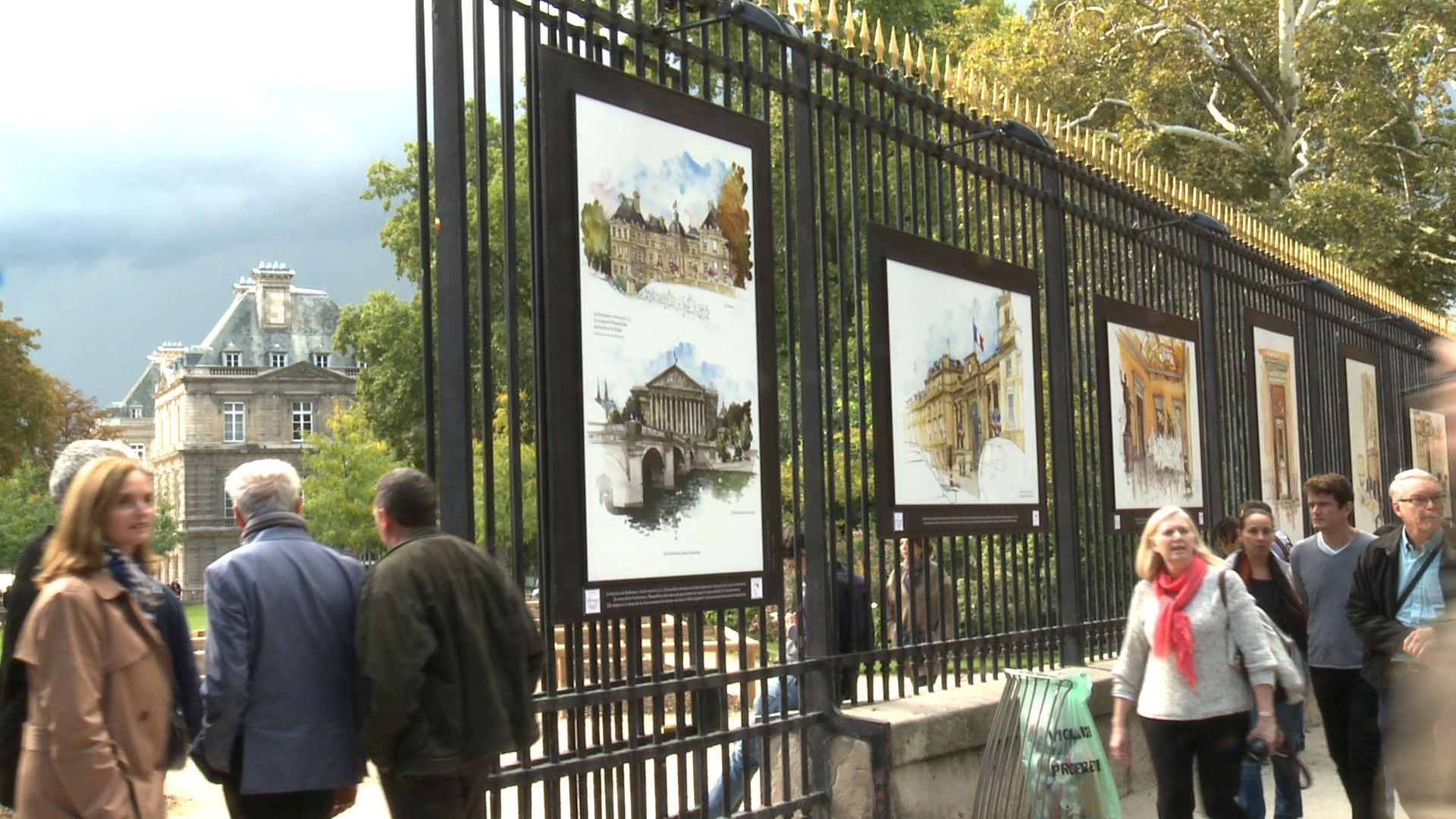 Exposition grilles du jardin du luxembourg la loi - Exposition jardin du luxembourg ...