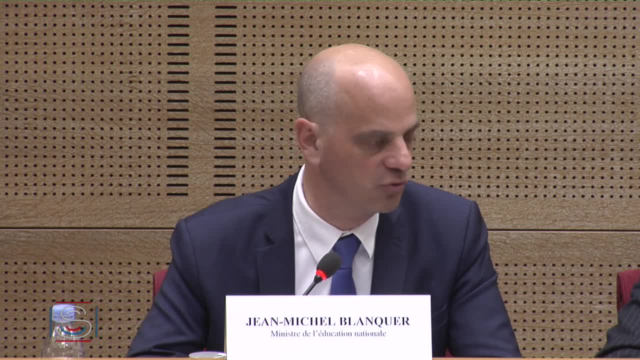PLF 2018 - Audition, ouverte à la presse, de M. Jean-Michel Blanquer