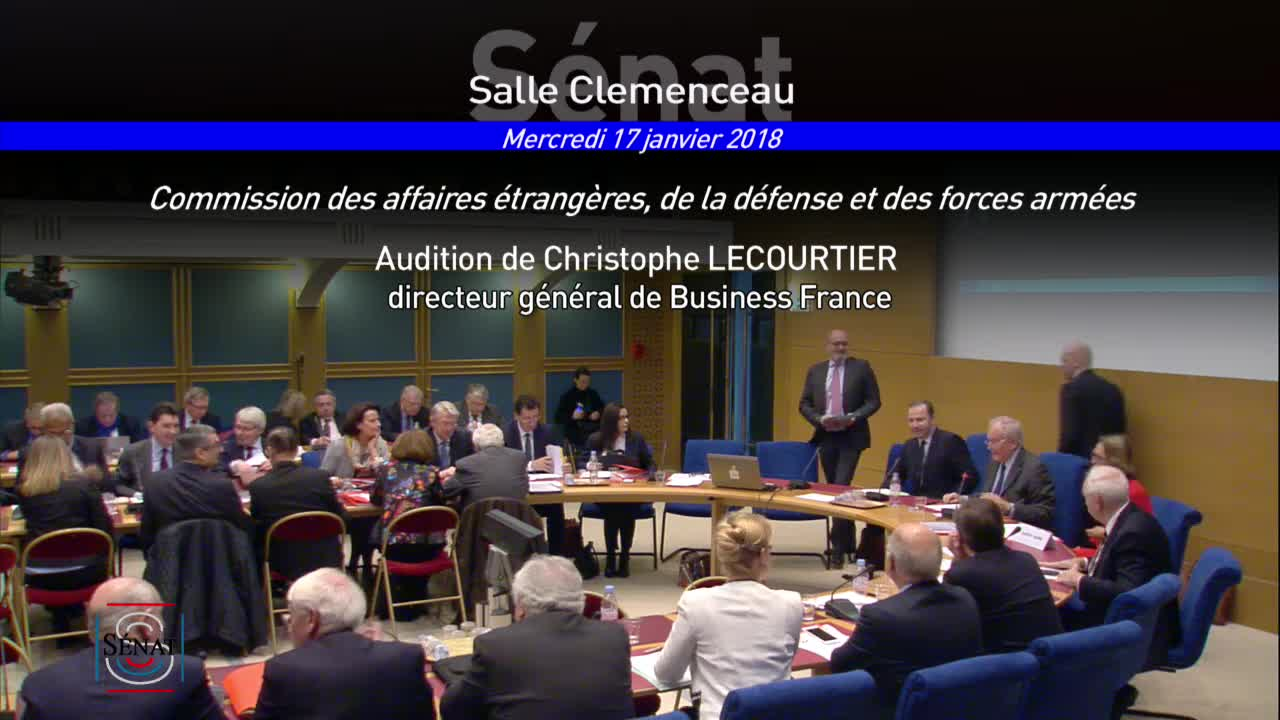 Audition de M. Christophe Lecourtier