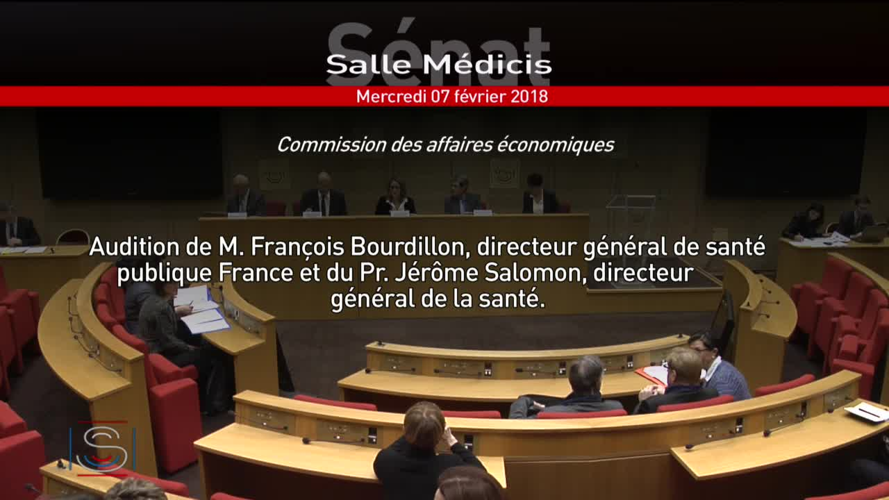 Audition M. François Bourdillon et Pr Jérôme Salomon
