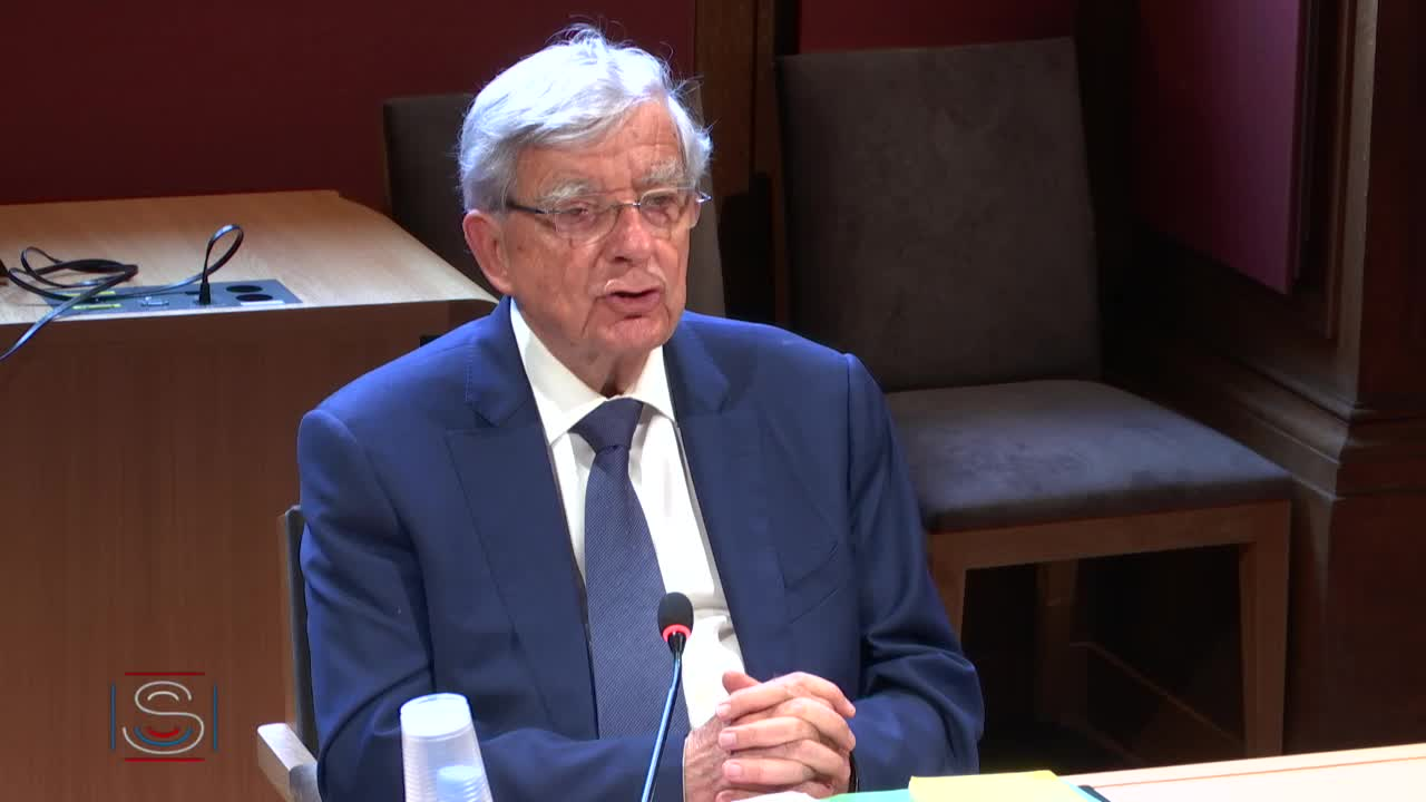 Audition de M. Jean-Pierre Chevènement, ancien ministre