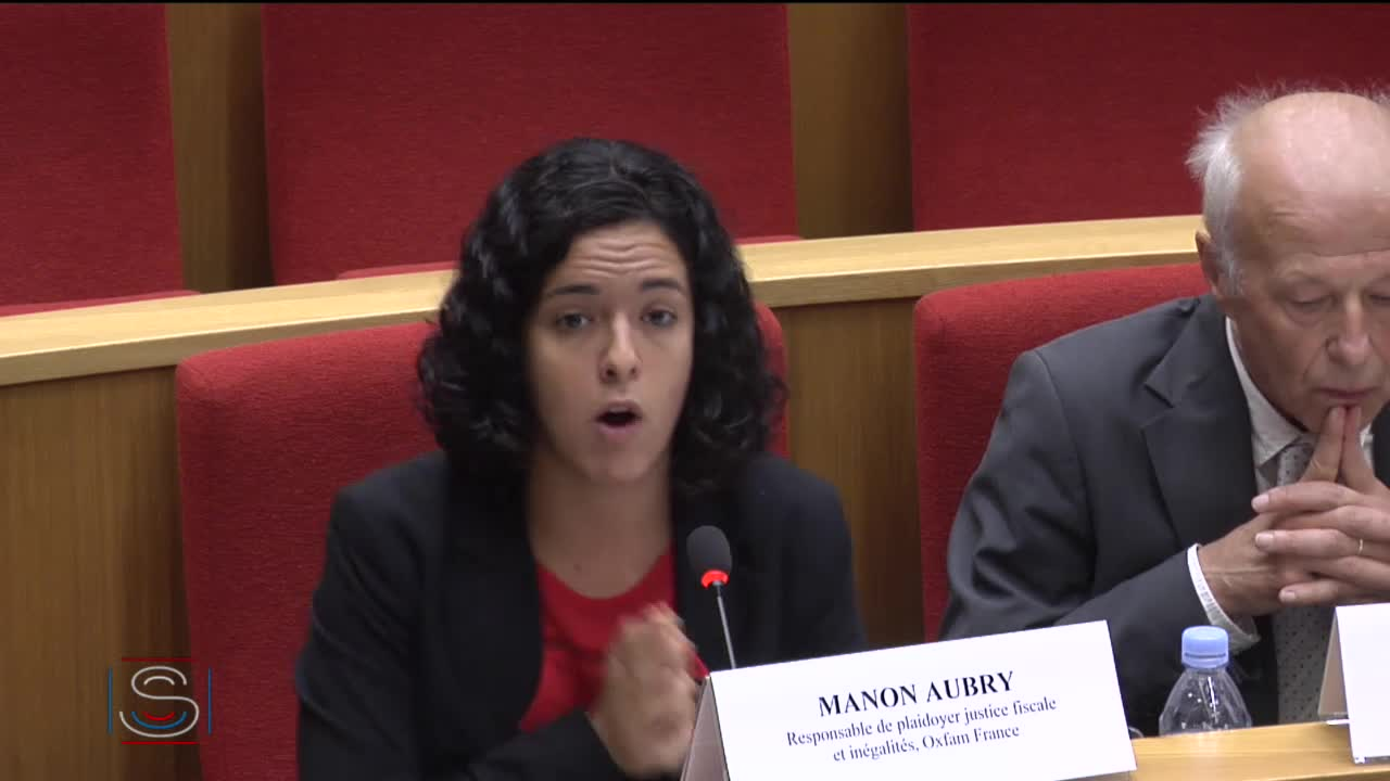 PJL lutte contre la fraude - Audition de Mme Manon Aubry (Oxfam), M. Lionel Bretonnet (Anticor), M. Jacques Fabre (Transparency International France) et Mme Lison REHBINDER (CCFD)