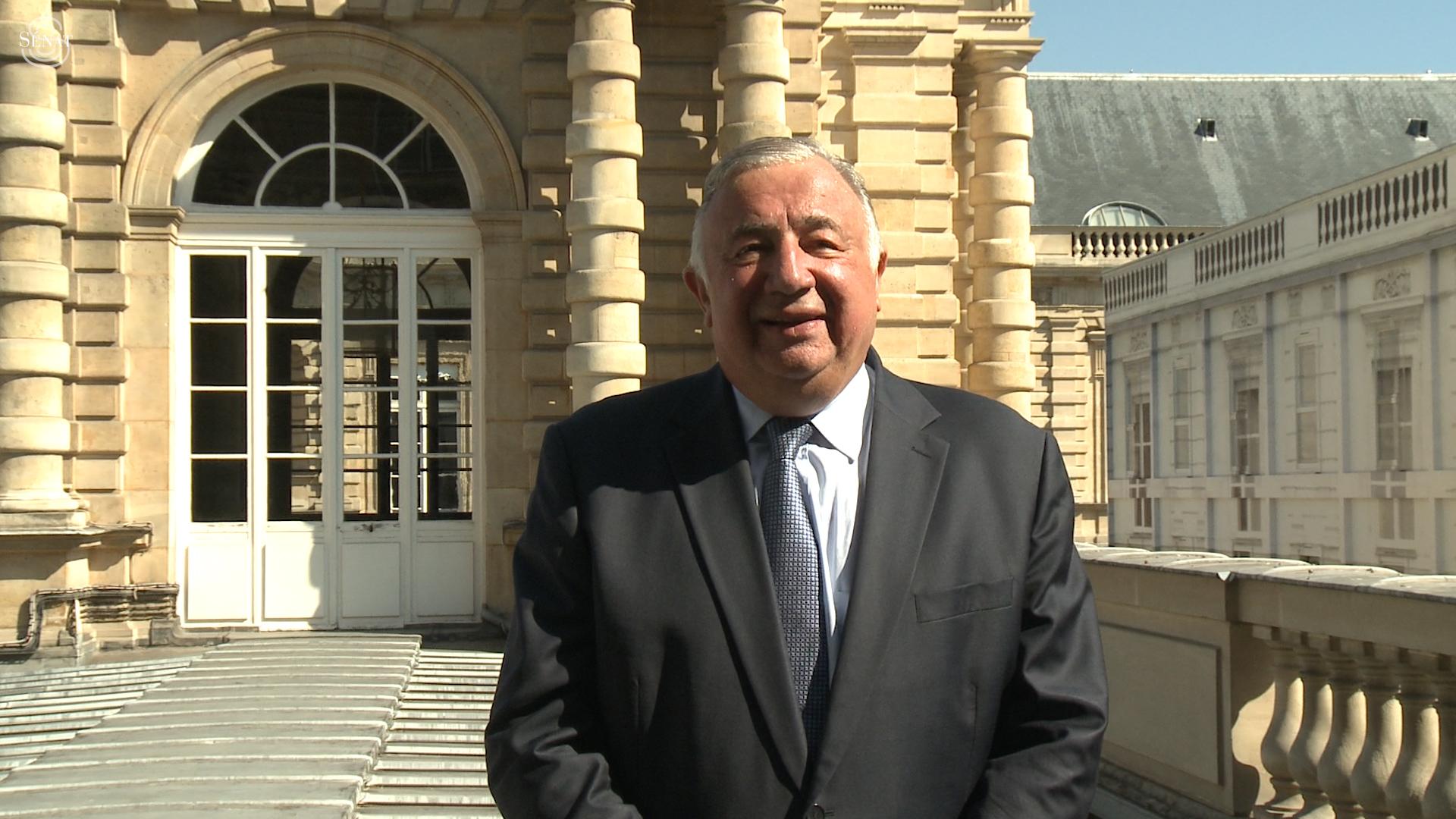 c772215d40f421 Journées européennes du Patrimoine   Message d accueil de Gérard Larcher