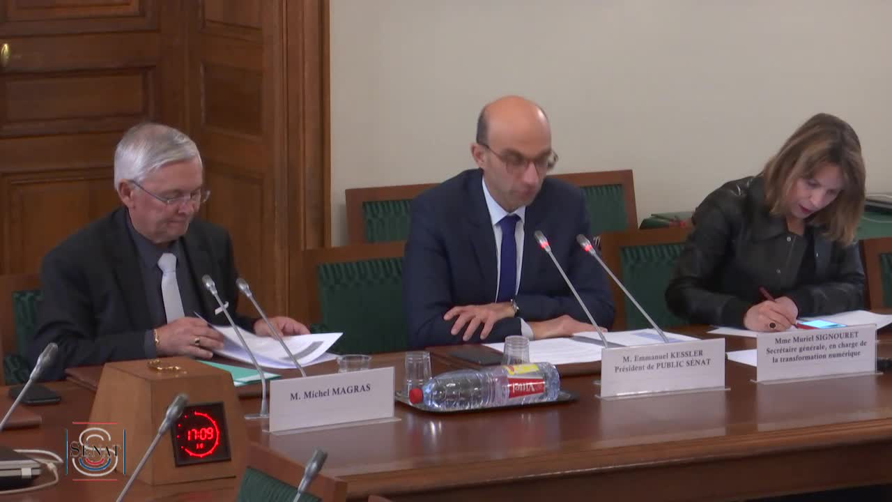 Sénat français - Vidéothèque